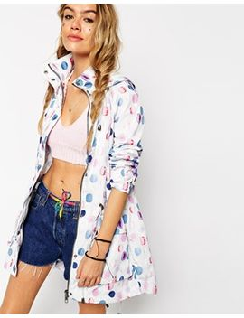 asos-rain-trench-in-polka-dot- by asos-collection