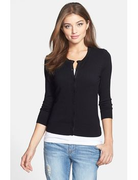 three-quarter-sleeve-cardigan by halogen®