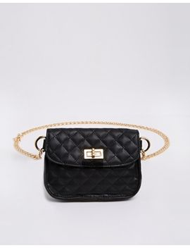 asos-chain-waist-belt-with-quilted-festival-purse by asos-collection