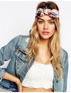 asos-feather-print-headscarf by click-here-to-view-our-full-range-of-hair-accessories