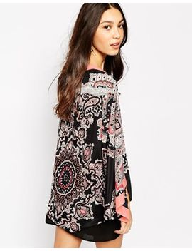 oasis-poppy-paisley-cape by oasis
