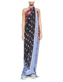 mixed-print-pareo-coverup by stella-mccartney