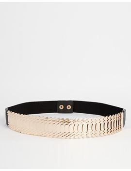 new-look-layered-snake-stretch-belt by new-look