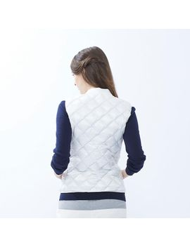 women-ultra-light-down-compact-quilted-vest by uniqlo