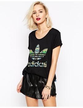 adidas-originals-butterfly-trefoil-t-shirt by adidas