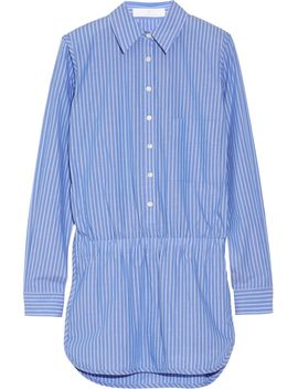 addition-striped-cotton-playsuit by thakoon