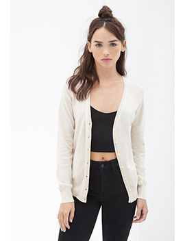 classic-button-down-cardigan by forever-21