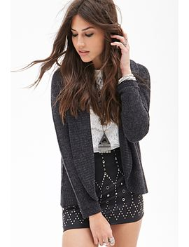 knit-shawl-collar-cardigan by forever-21