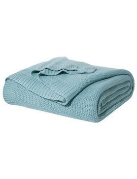 sweater-knit-bed-blanket---threshold by shop-collections