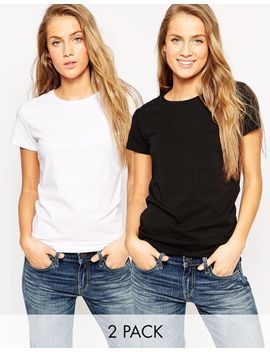 asos-the-ultimate-crew-neck-t-shirt-2-pack-save-15% by asos-collection