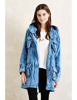 Maison Scotch Twill Parka by Anthropologie