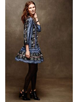 Winter Moon Tunic Dress by Anthropologie