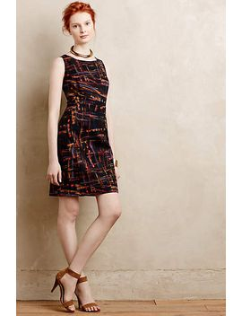 Expressionist Sheath Dress by Anthropologie