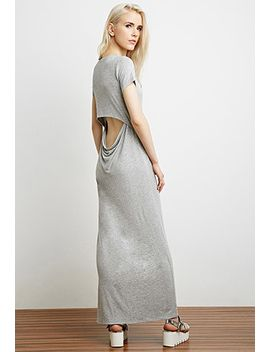 cutout-layered-t-shirt-dress by forever-21