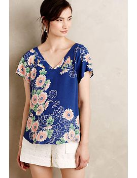 Tri Cut Blouse by Anthropologie
