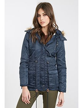 faux-shearling-parka by forever-21