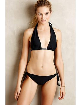 Kelly Halter Bikini Top by Anthropologie