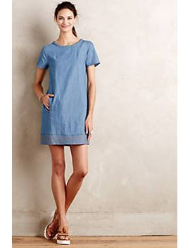 braided-chambray-tunic-dress by holding-horses