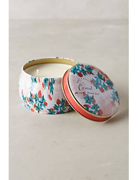 Spring's Eden Candle Tin by Anthropologie