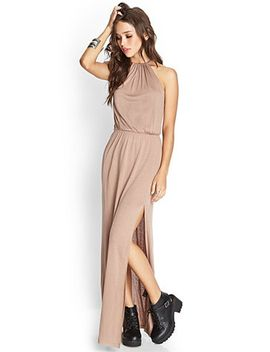 knotted-maxi-dress by forever-21