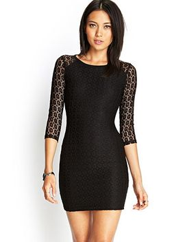 body-conscious-lace-dress by forever-21