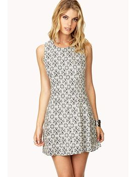 surrealist-a-line-dress by forever-21