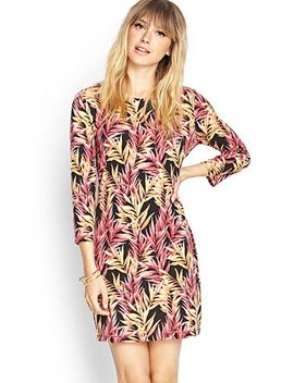 botanical-knit-dress by forever-21