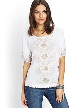 embroidered-peasant-top by forever-21