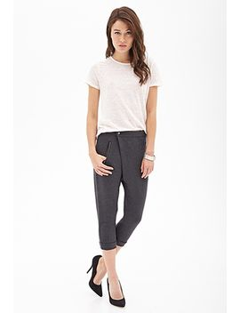 cuffed-origami-front-joggers by forever-21