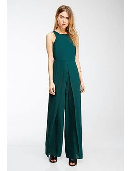 classic-chiffon-jumpsuit by forever-21