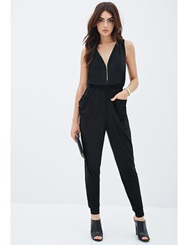 double-zippered-jumpsuit by forever-21