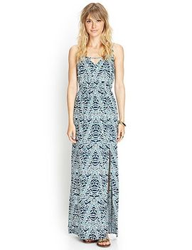 geo-knit-maxi-dress by forever-21