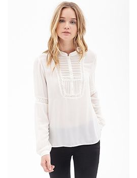 pleated-peasant-blouse by forever-21