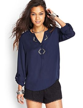 embroidered-bead-blouse by forever-21