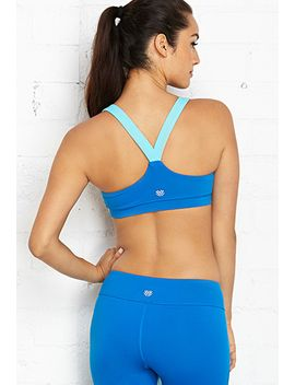 medium-impact--colorblocked-sports-bra by forever-21