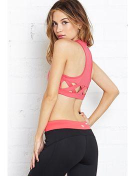 medium-impact--cutout-sports-bra by forever-21