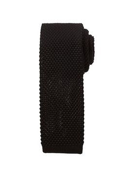 textured-knit-neck-tie by forever-21