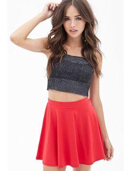 knit-skater-skirt by forever-21