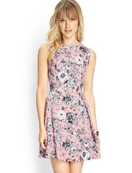 garden-chic-a-line-dress by forever-21