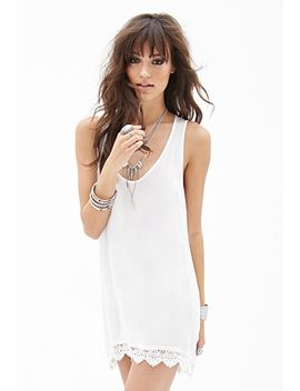 lace-trimmed-dress by forever-21