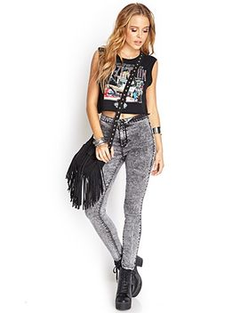 high-waisted-acid-wash-jeans by forever-21