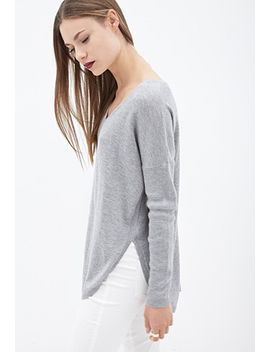 v-neckline-dolphin-sweater by forever-21