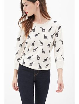 animal-print-sweater by forever-21