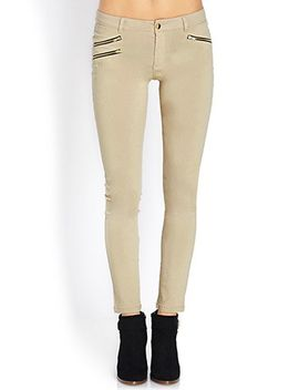 desert-cutie-zippered-knit-pants by forever-21