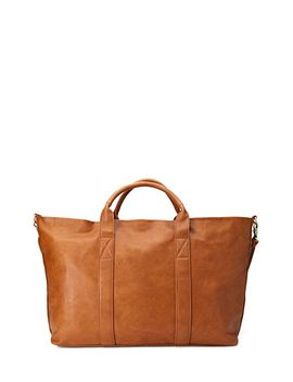 faux-leather-weekender by forever-21