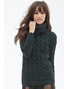 cable-knit-turtleneck-sweater by forever-21