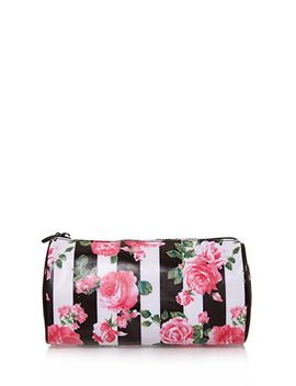 rose-print-cosmetic-pouch by forever-21