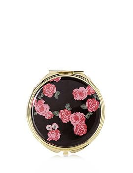 rose-print-mirror-compact by forever-21