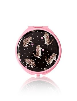 hearts-&-kittens-mirror-compact by forever-21