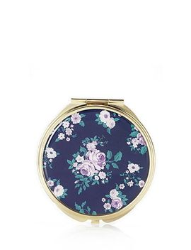 classic-floral-mirror-compact by forever-21